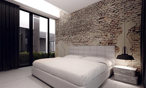 Bedroom Brick Wall...