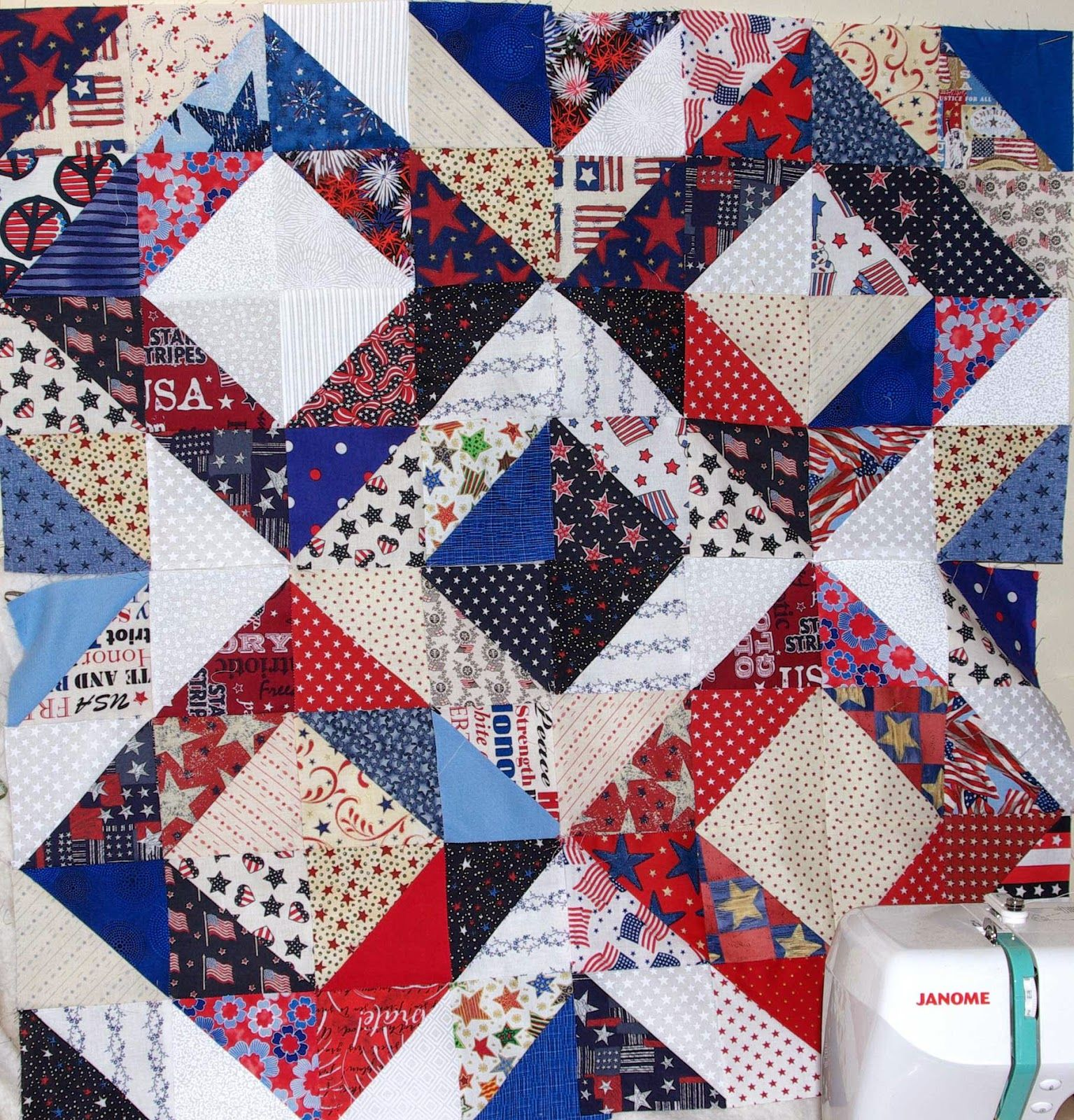 Sane, Crazy, Crumby Quilting: Friday HSTeria