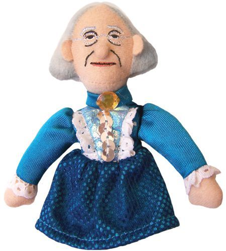Susan B. Anthony Finger Puppet