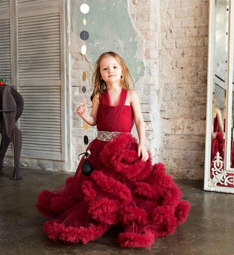 Fluffy Cloud Gown Kids Prom Dresses Kids Gown Kids Dress [ 1024 x 939 Pixel ]