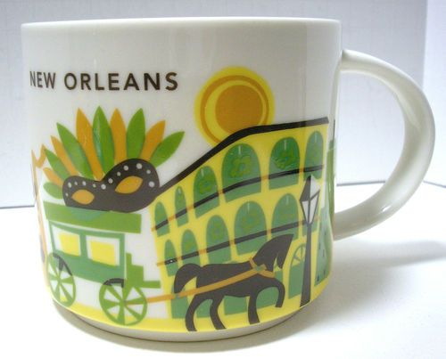 Starbucks New Orleans You Are Here coffee mug