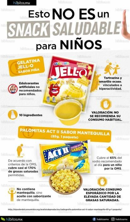 Esto No Es Un Snack Saludable Para Niños 8230 Health And Nutrition Organic Recipes Healthy Health Food