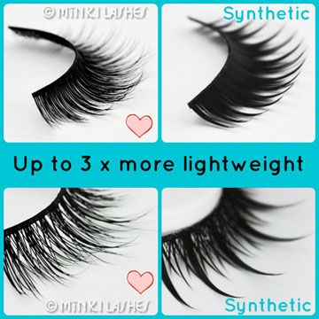 ed5d2b3ef0a Minki Mink lashes are Lightweight False Eyelashes that can be used upto 25  times.