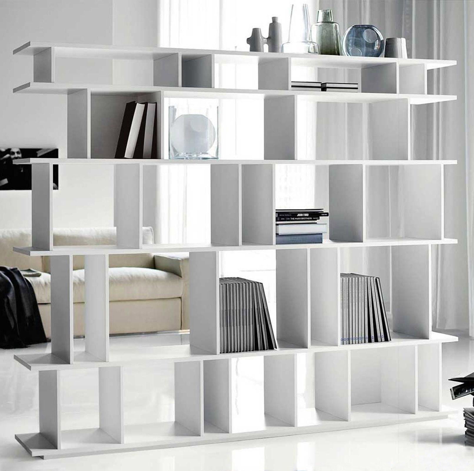 Librerie bifacciali per separare ambienti | Decoración