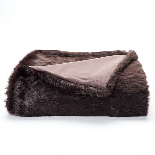 Kohls Throw Blankets Interesting Jennifer Lopez Luxury Faux Fur Throw Kohl's Found This Super Review
