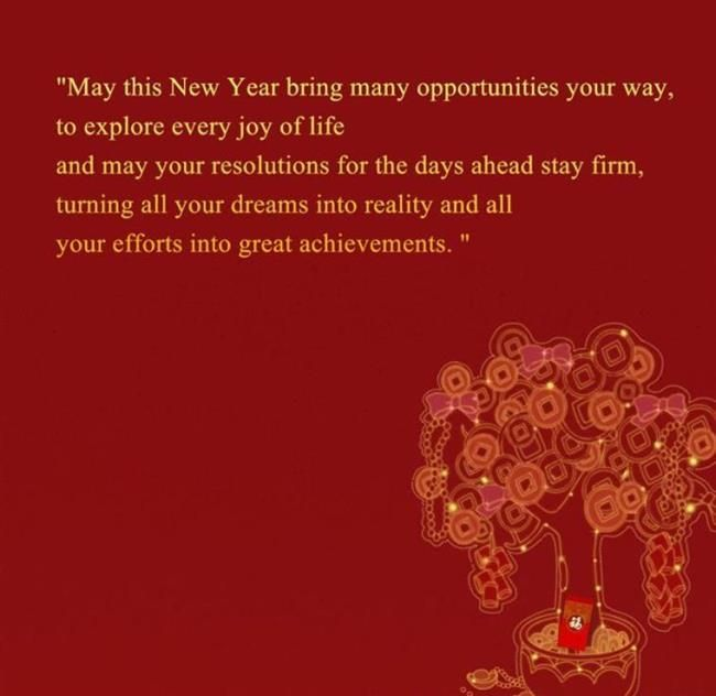 chinese new year greeting phrases to wish happy new year