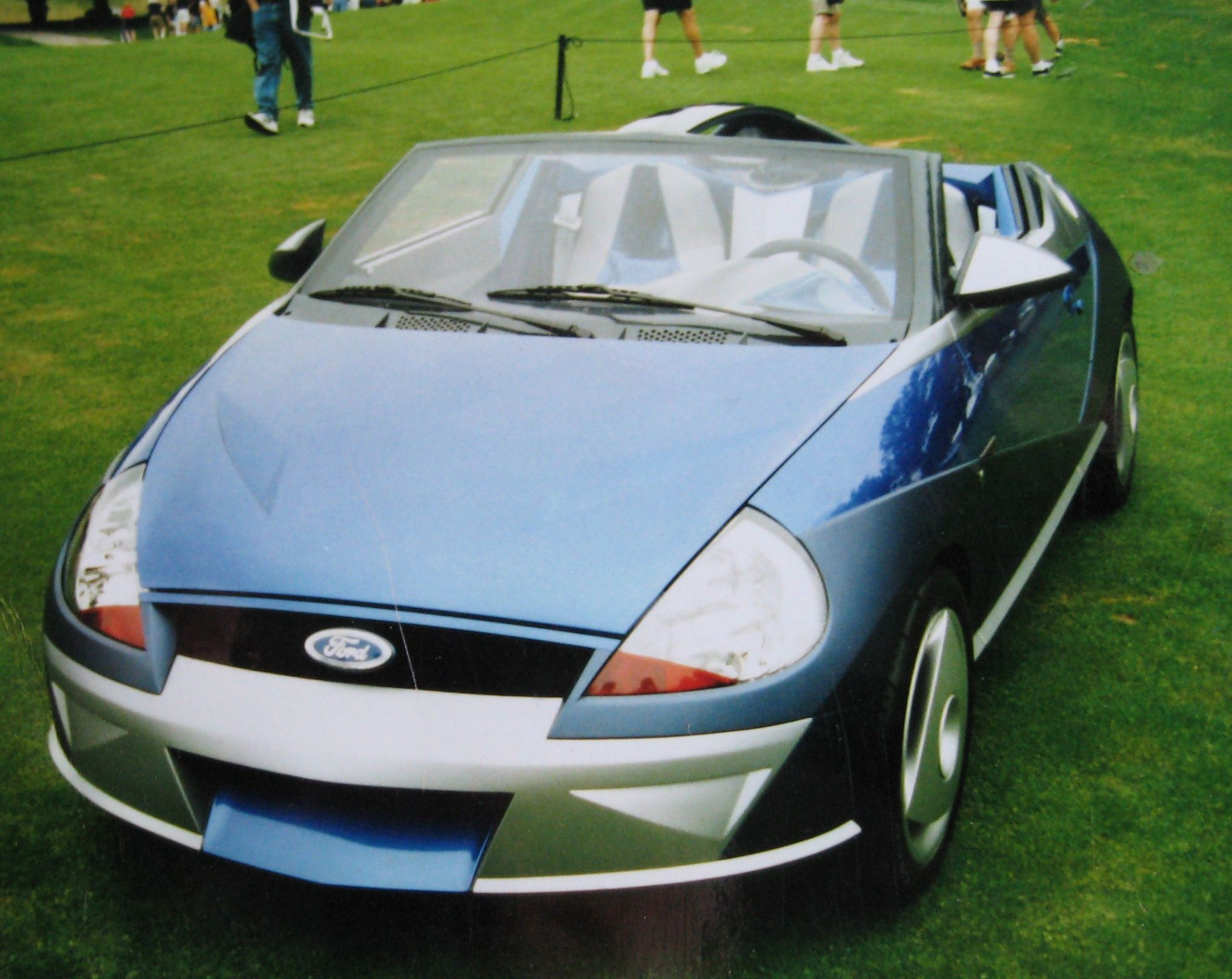 Ford Ghia Saetta The First Generation Ka Took Design Inspiration