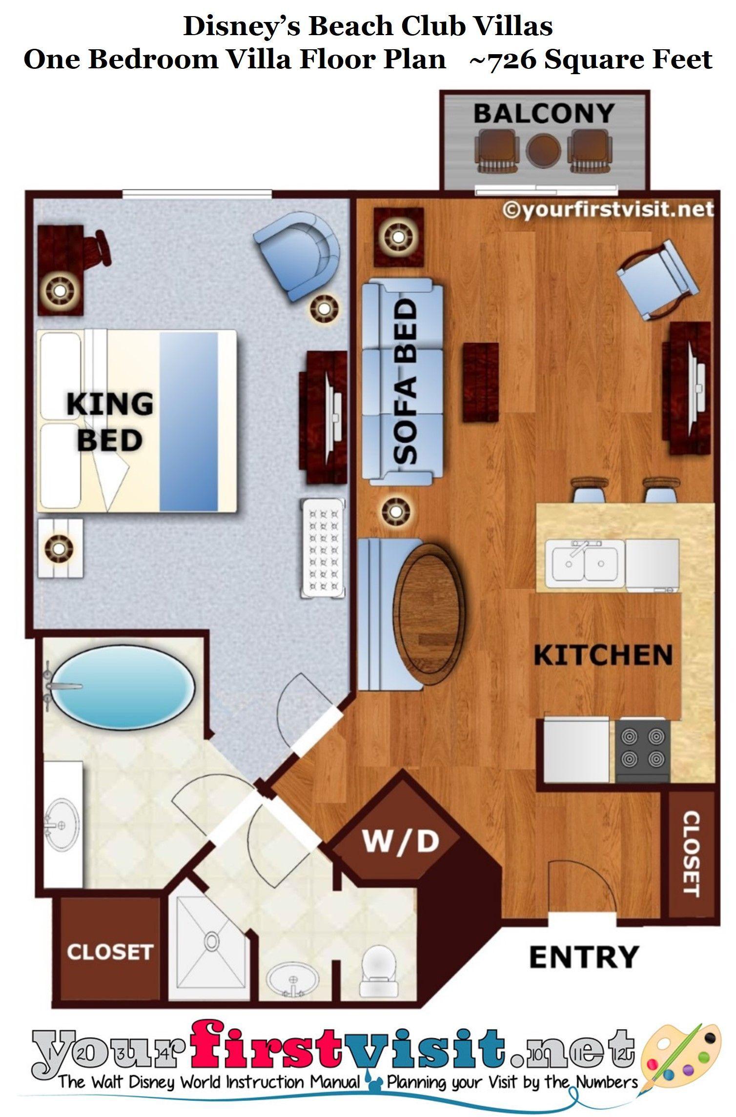 48++ Beach club villas 1 bedroom floor plan cpns 2021