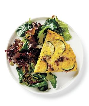 Get the recipe for Zucchini and Sausage Frittata.