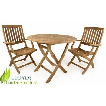 The York Range   Patio Set Stylish 2 Seater Bistro Set For Smaller Gardens  And Patios