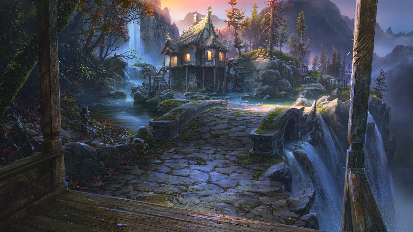 Witch House By VityaR83deviantart On DeviantArt