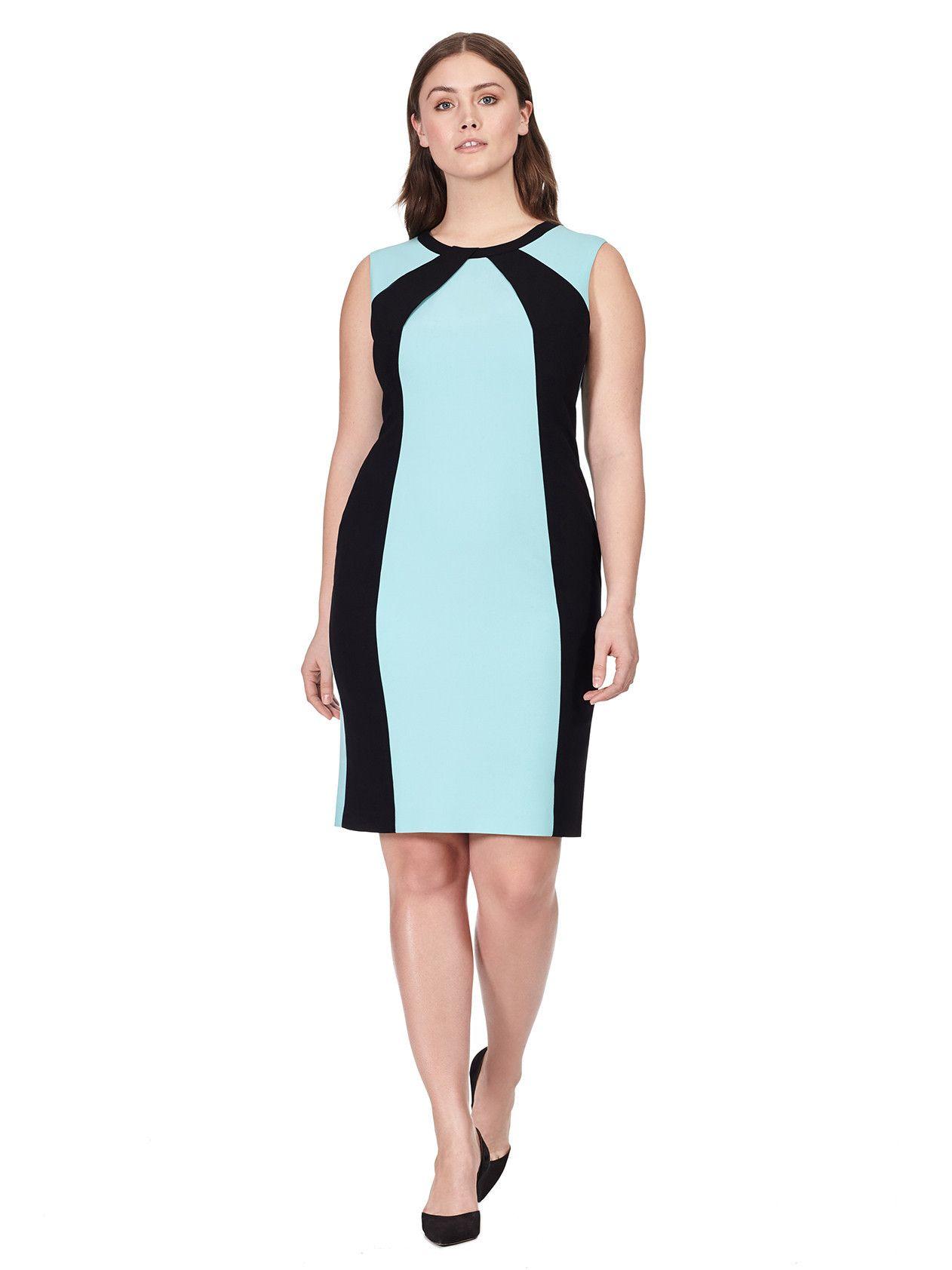 Colorblock Sheath Dress   Padrões de costura/ Sewing patterns ...