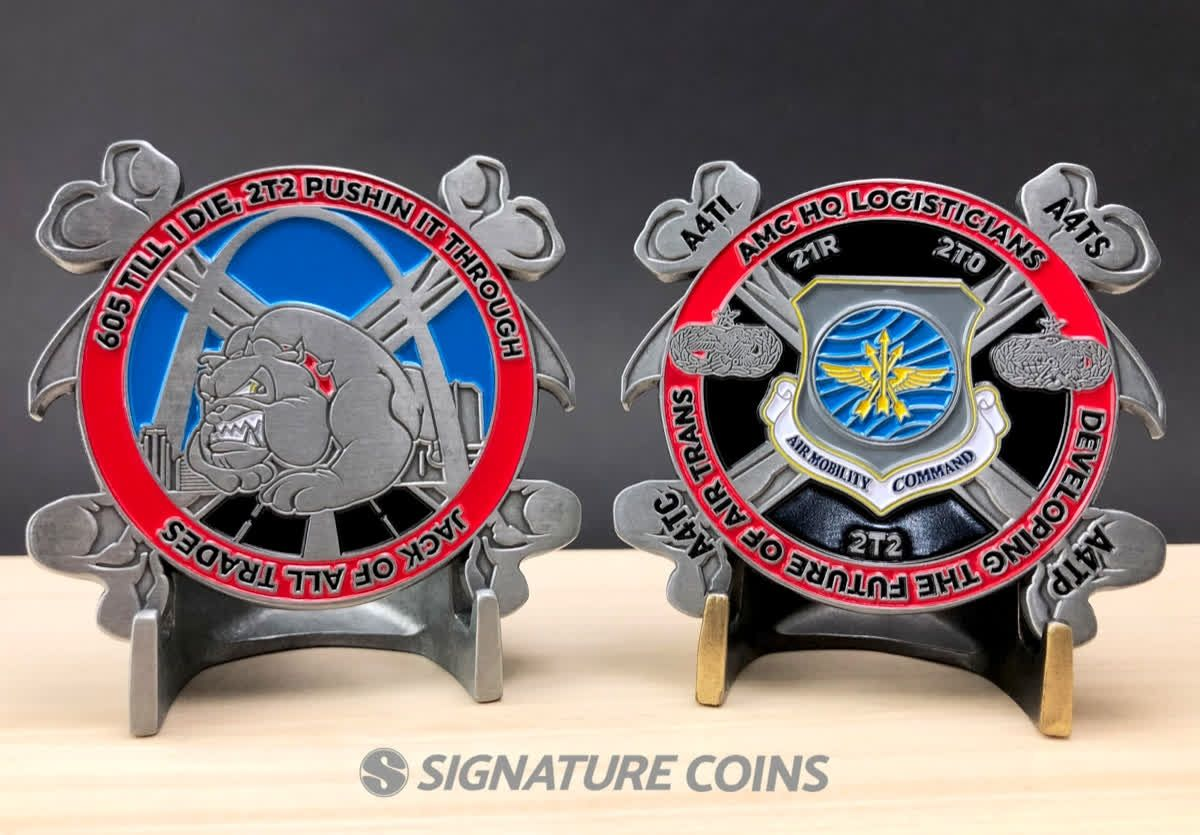 """Breaking Down Your Challenge Coin Design """"Air Mobility"""