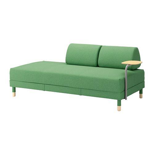 bettsofa mit ablage flottebo lysed gr n in 2019. Black Bedroom Furniture Sets. Home Design Ideas