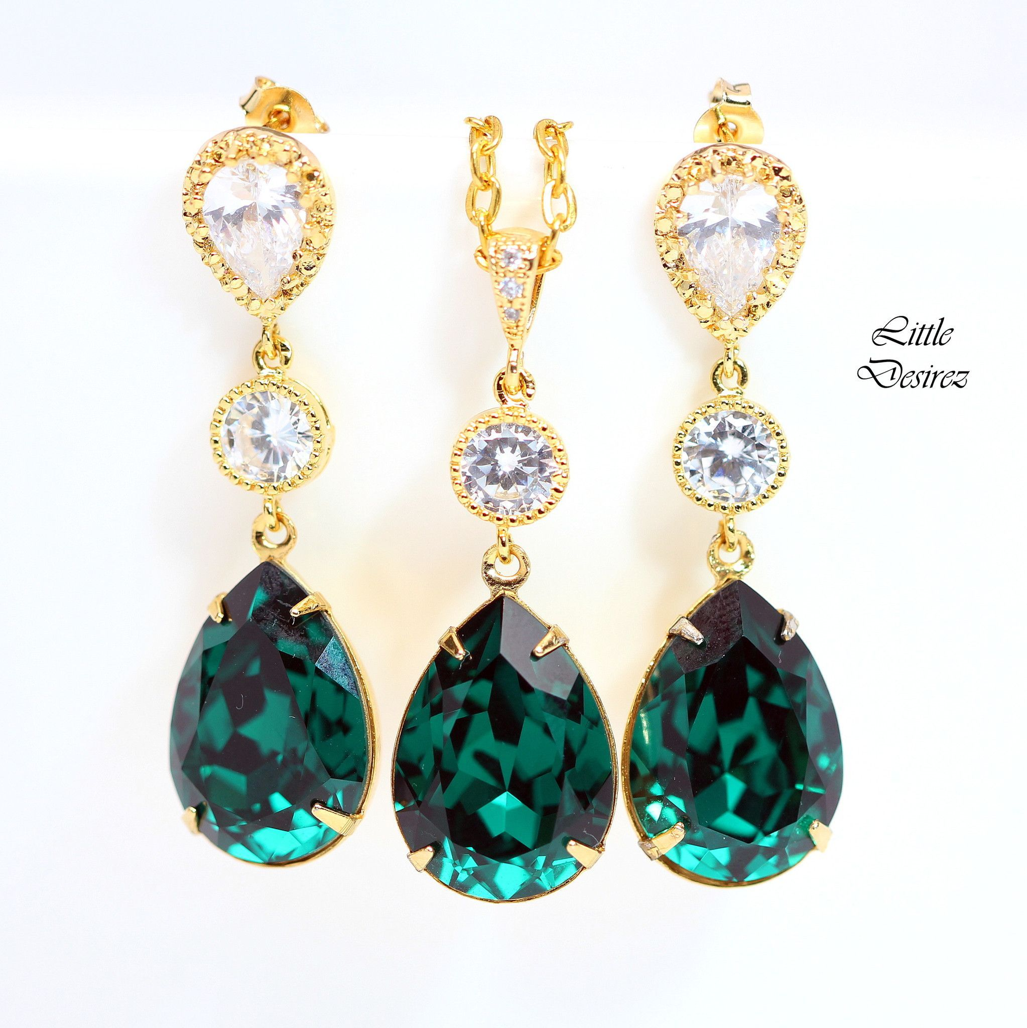 tear emerald diamond jewellery carat and earrings catalog wg drop