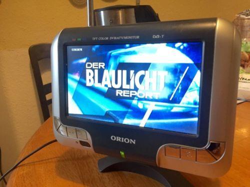 Mini LCD-TV Fernseher :: ideal für Küche/Bad/Camping in ...