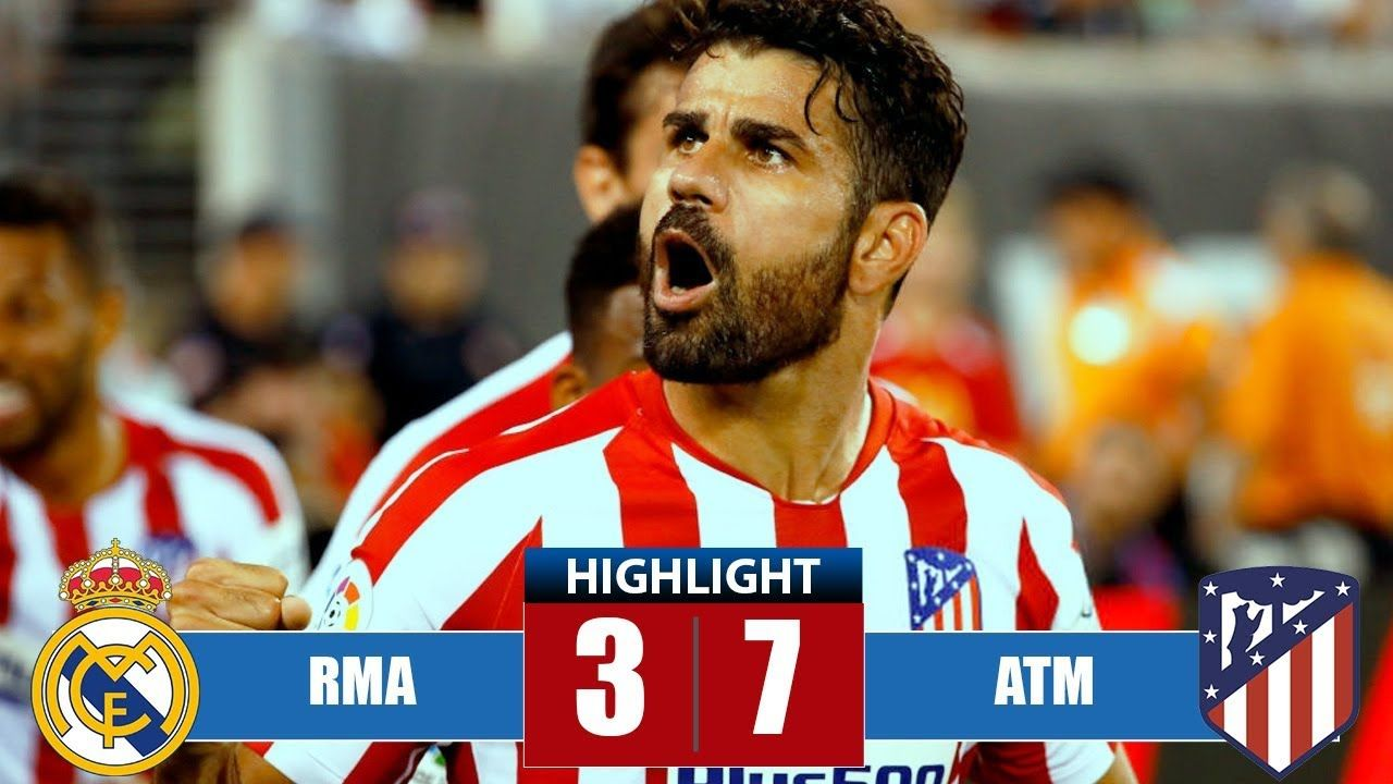 Diego Costa Vs Real Madrid Goals Red Card 2019 Diegocosta Realmadrid Football Real Madrid Goal Highlights Atlético Madrid