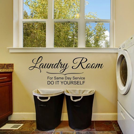 Laundry room same day service wall decal do it yourself decal laundry room same day service wall decal do it yourself decal wall decal solutioingenieria Gallery