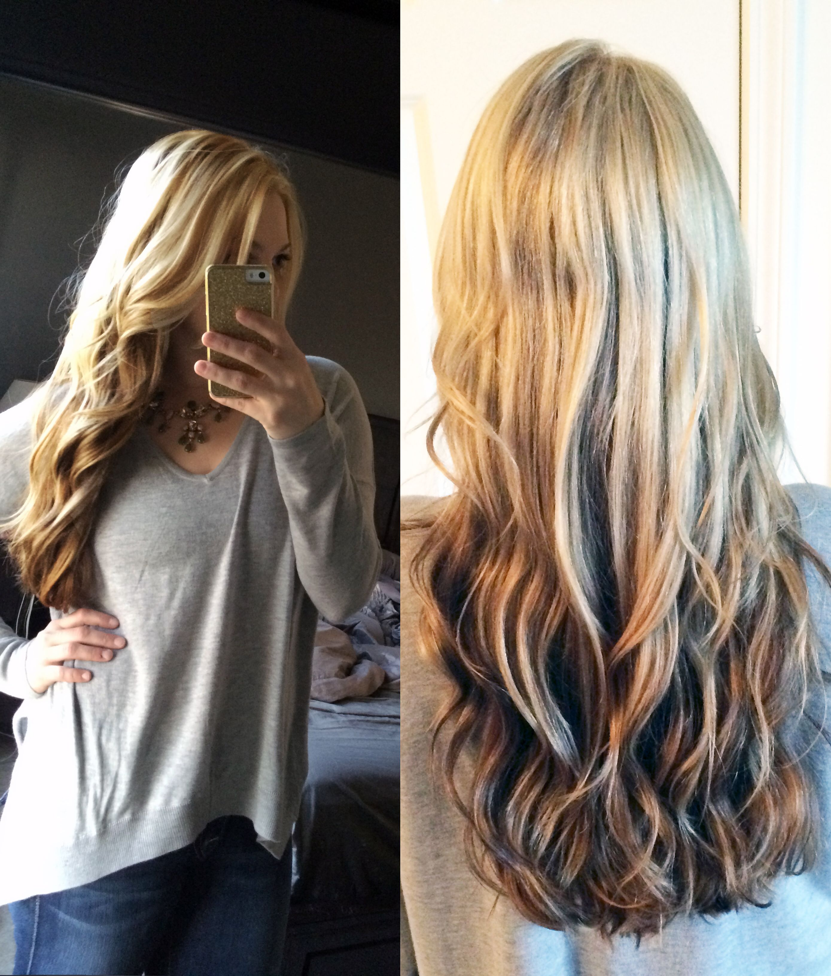 Revers Ombre Hair Colors Pinterest Ombre Reverse Ombre And