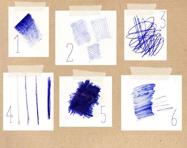 Different Types Of Lines In Art Drawing : Drawing with a ball point pen make art and doodles