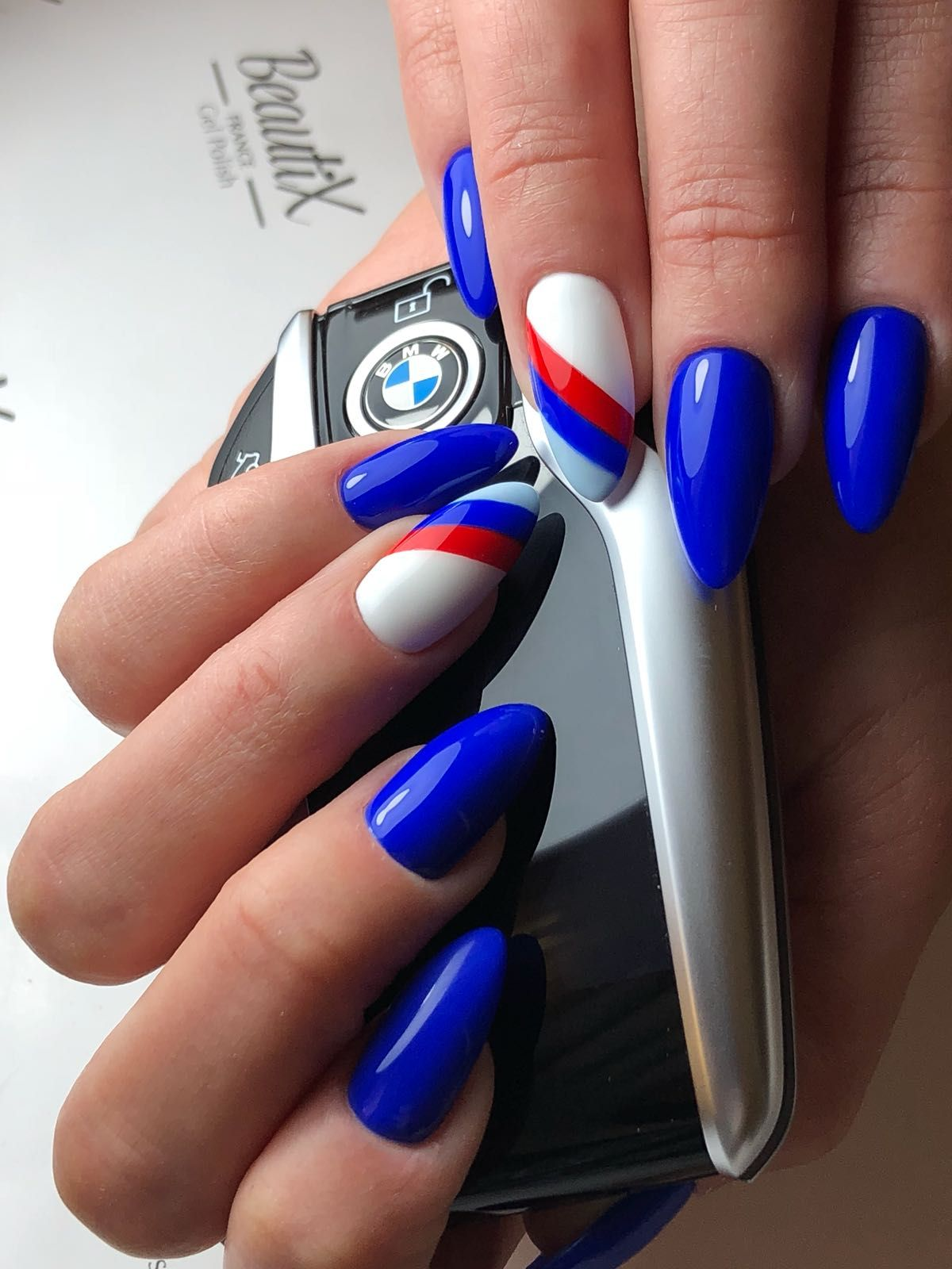 Pin by Anete Martinsone on BMW nail design in 24 | Nails ...