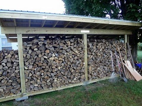 How To Build A Firewood Shed By Yourself Backyard Sheds Firewood Shed Backyard Shed