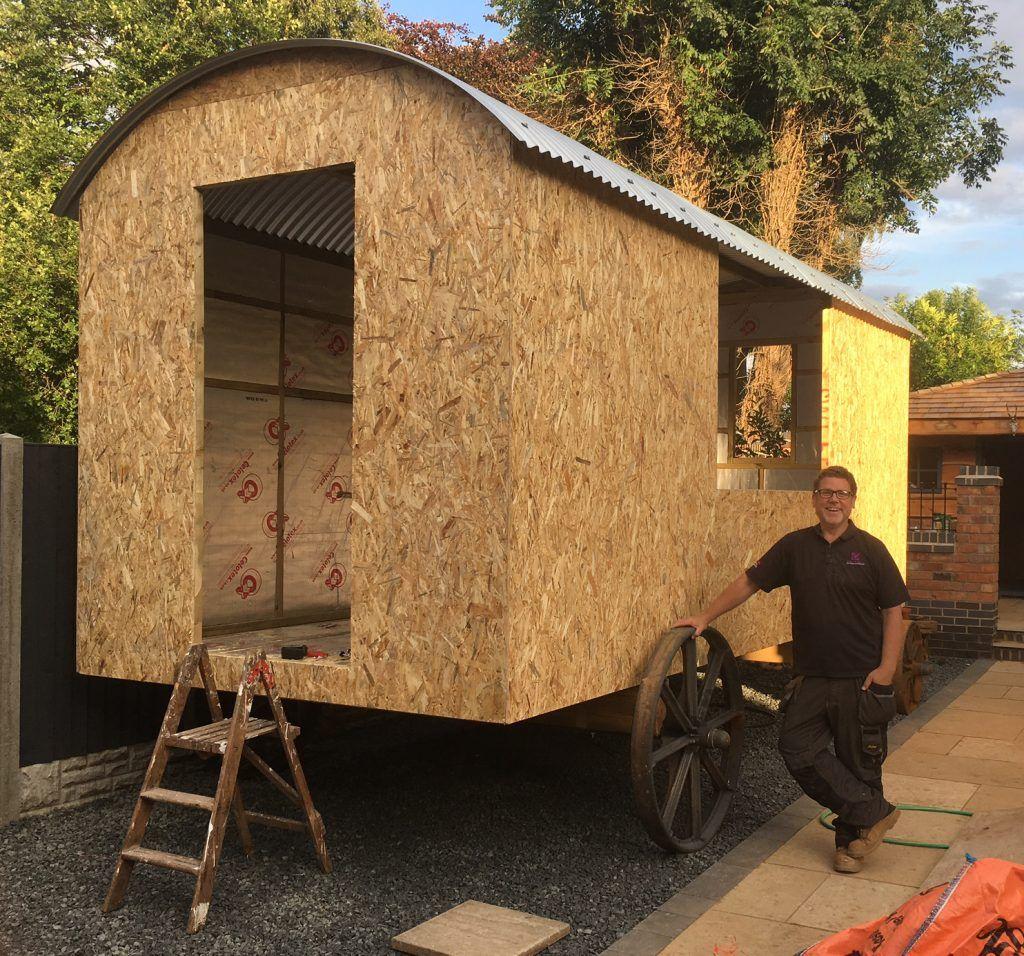 Build Your Own Shepherd S Hut In 2019 Plain Huts In 2020 Shepherds Hut Hut Engineered Oak Flooring