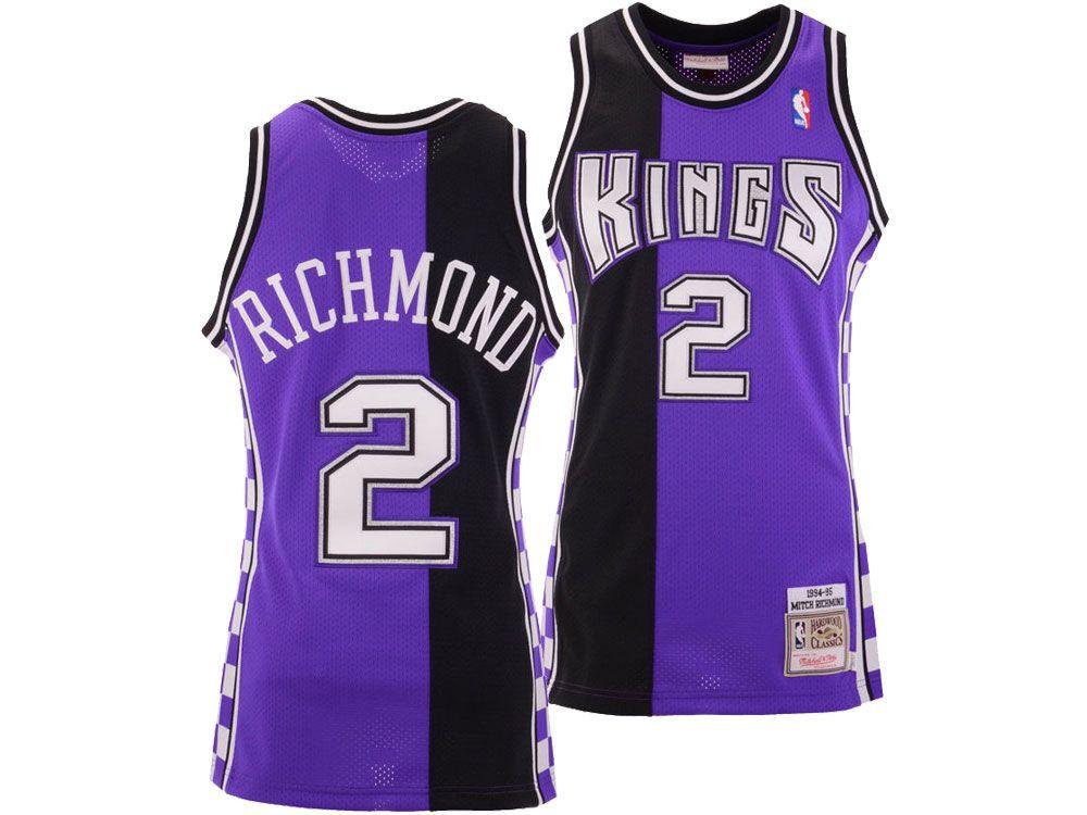 separation shoes e8bc7 80ff9 Sacramento Kings Mitch Richmond Mitchell & Ness NBA ...