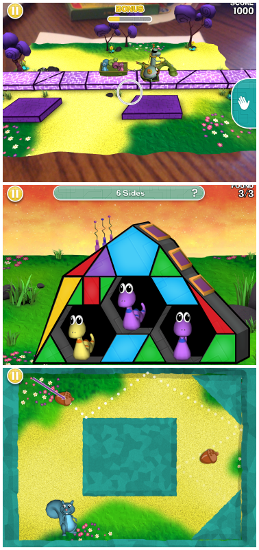 Free App Cool Math Game from PBS Kids Cyberchase Shape
