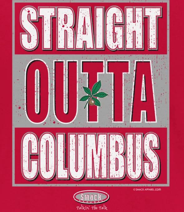 Ohio State Football Fans | Straight Outta Columbus Shirt