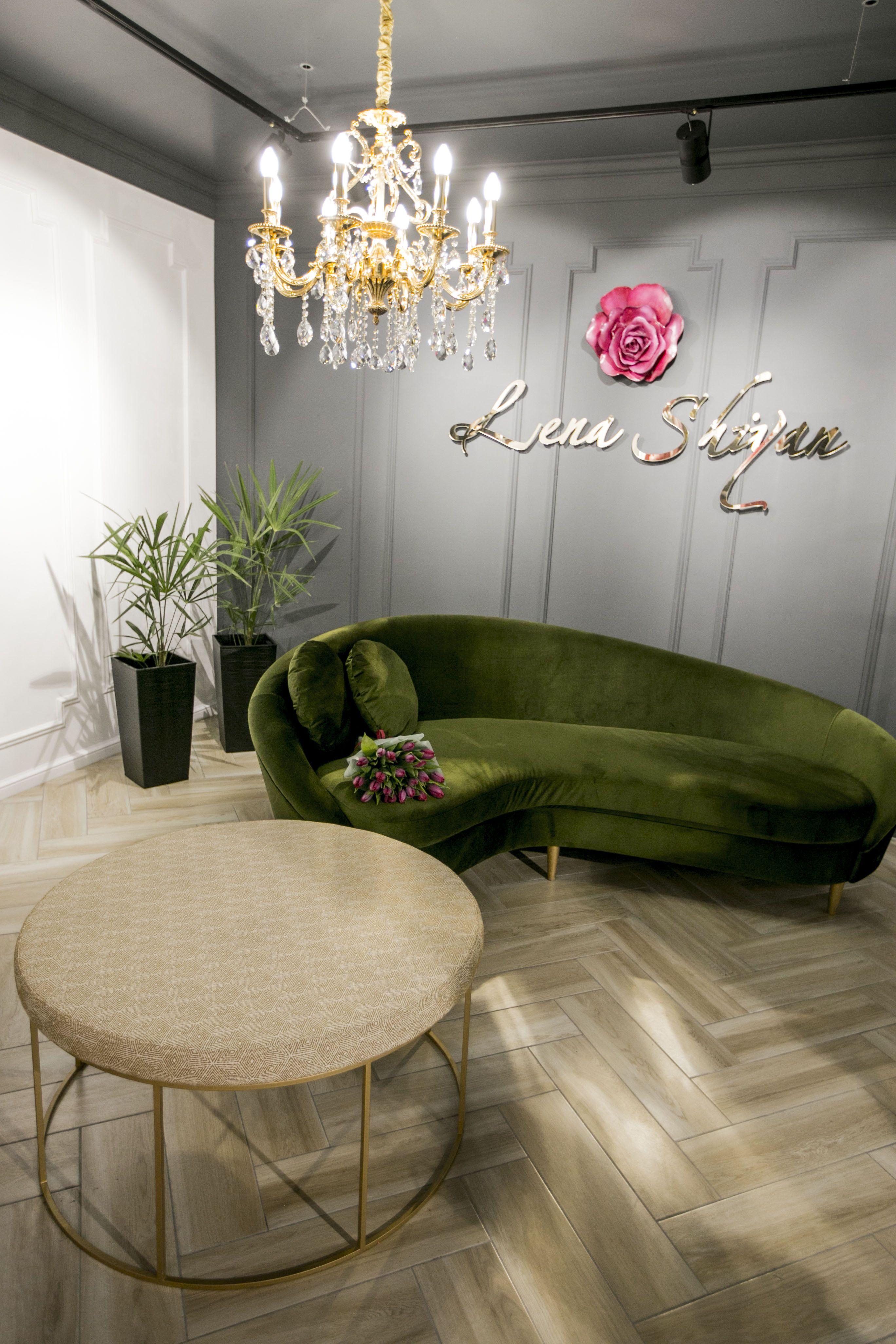 Интерьер магазина-студии дизайнерской одежды Лены Шиян от ...