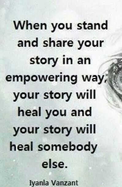 Community Service Quotes Classy Share Your Story  True  Pinterest  Cancer Awareness And Inspirational