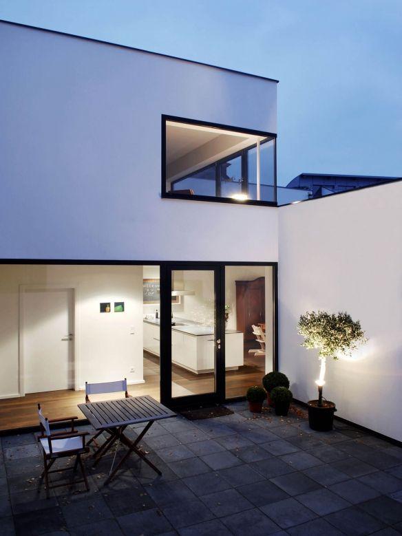 Architekt Bonn terrasse wohnhaus bonn corneille uedingslohmann architekten balkon