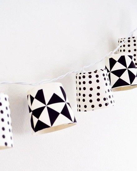 Une guirlande DIY avec des gobelets