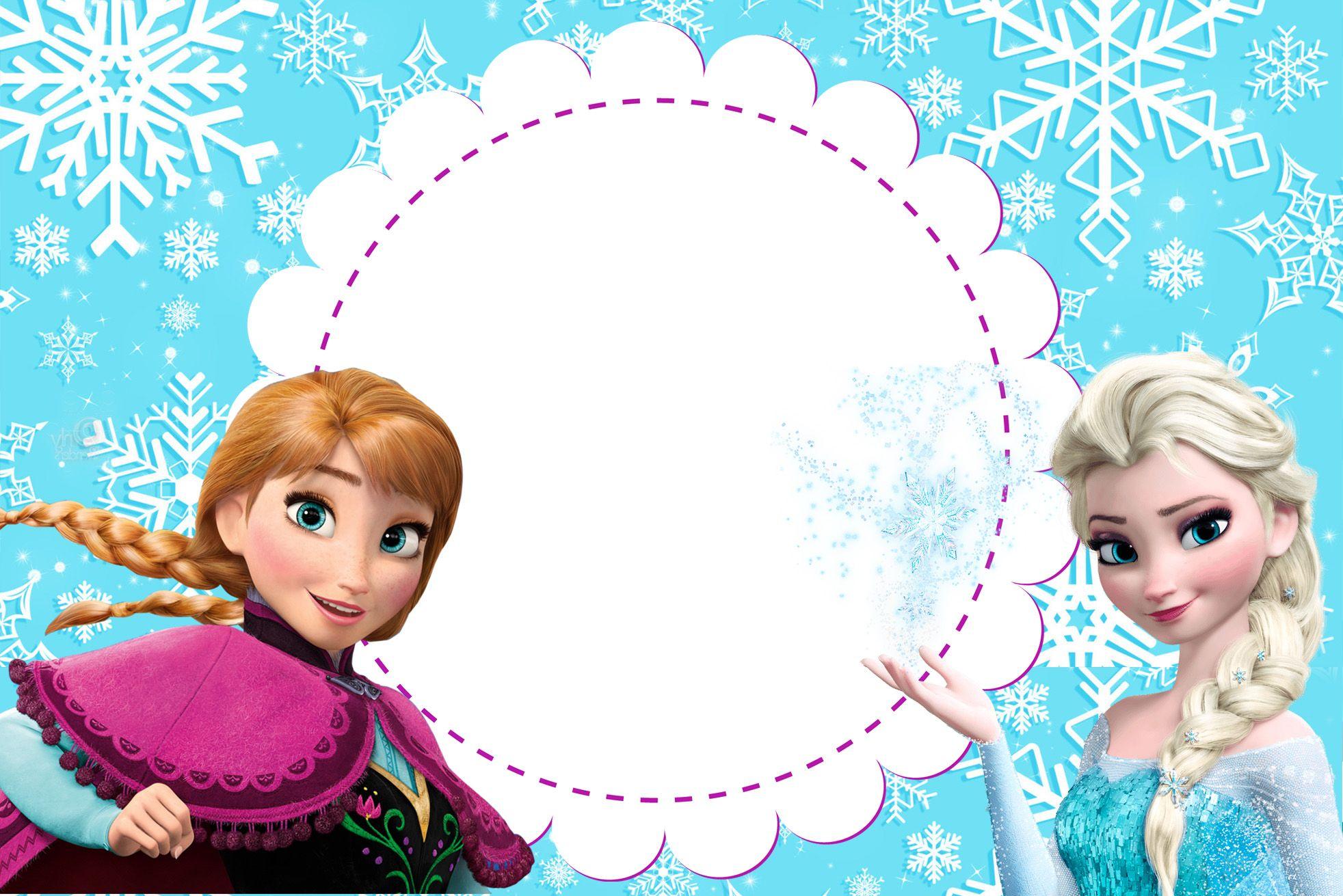 02 Jpg 1 964 1 311 Pixeles Invitaciones De Frozen Invitaciones