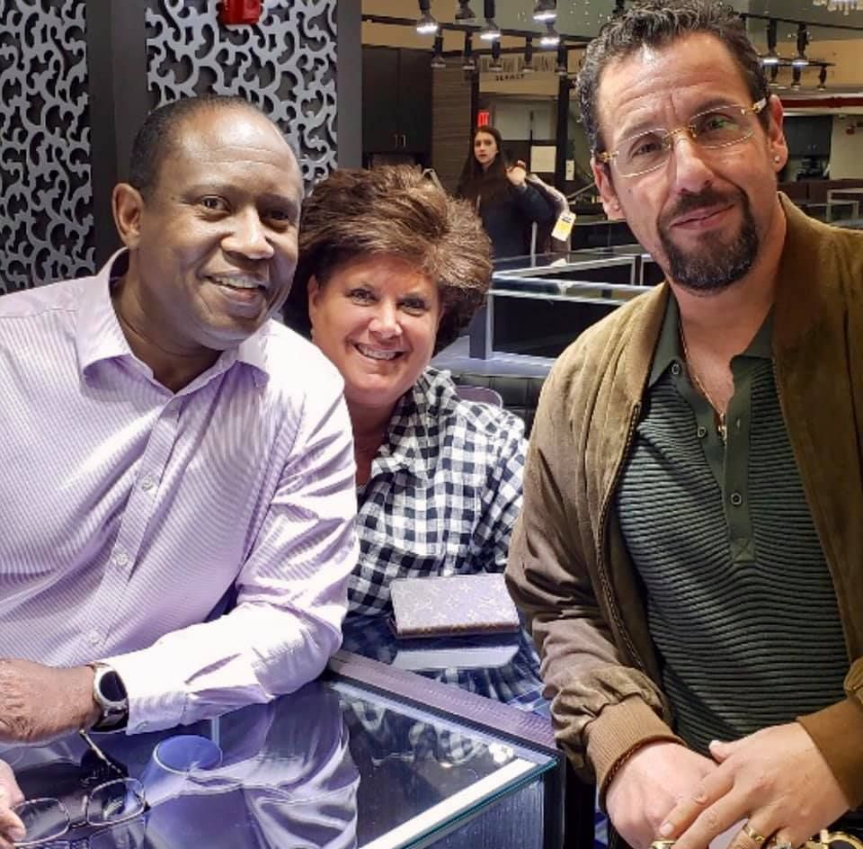 Thanks Adam Sandler For Stopping By Firenzejewels Uncutgems Adamsandler In 2020 Diamond District Nyc Jewelry Rings Engagement Designer Diamond Jewellery
