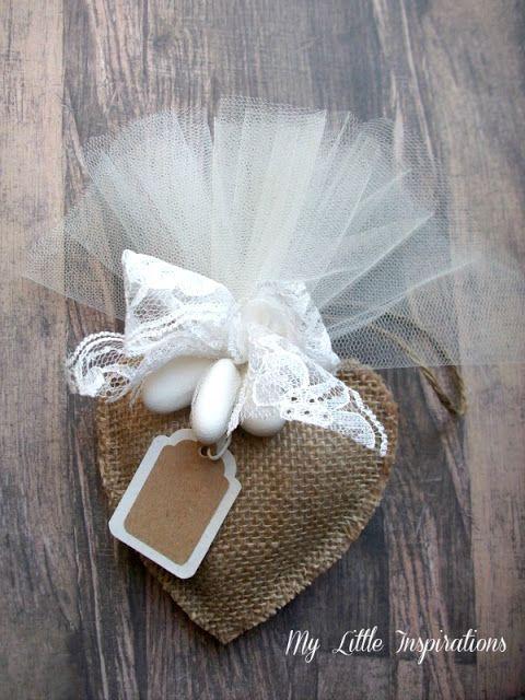 Bomboniere Matrimonio Stile Rustico : Bomboniere handmade per matrimonio in stile rustico romantico