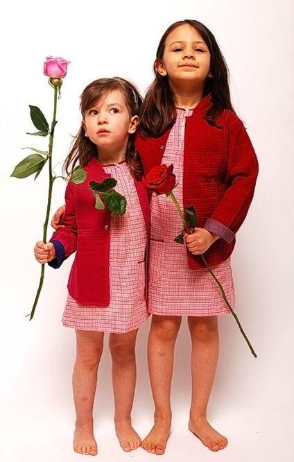 Bouton Kids, vestidos, camisas y pantalones para niños, colección de moda infantil de Bouton Kids