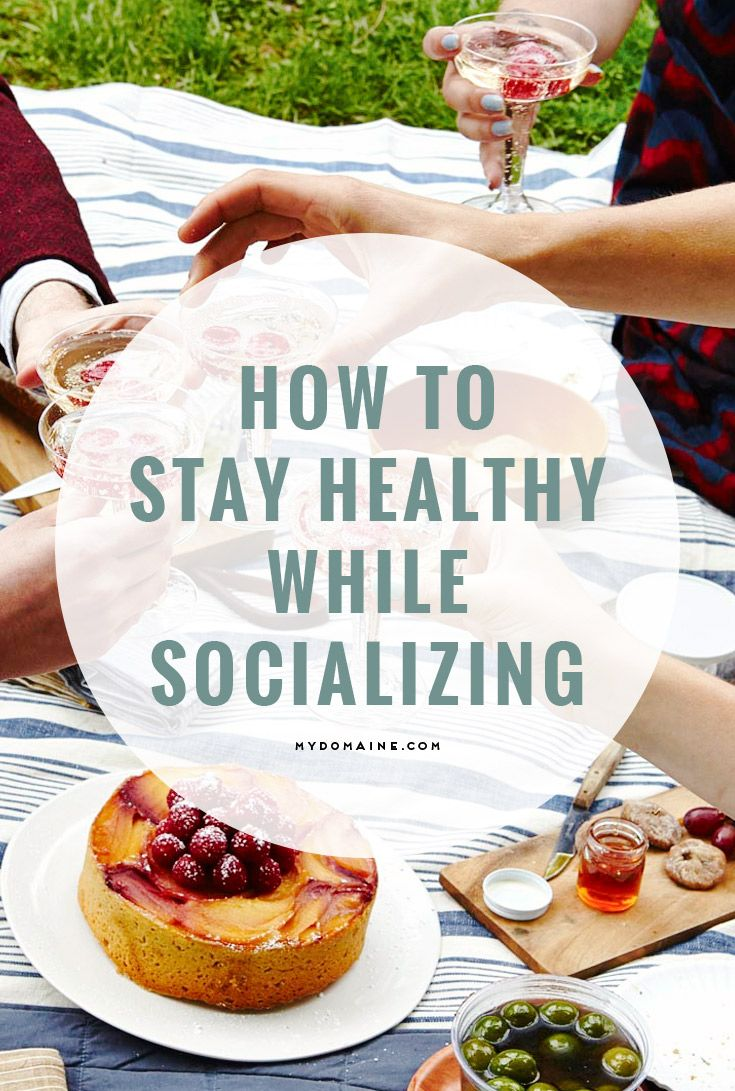 Step away from the snack table! Here's how to be healthy while also being a social butterfly