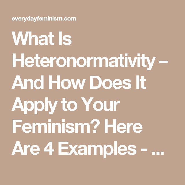 What is heteronormativity