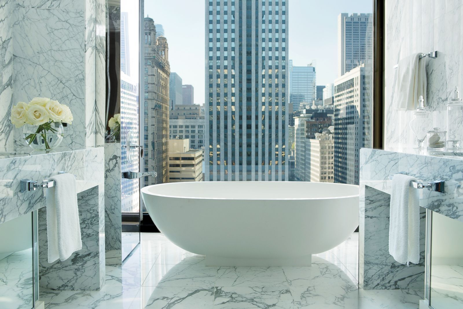 Hotel Suite of the Week: Infinity Suite at The Langham, Chicago ...