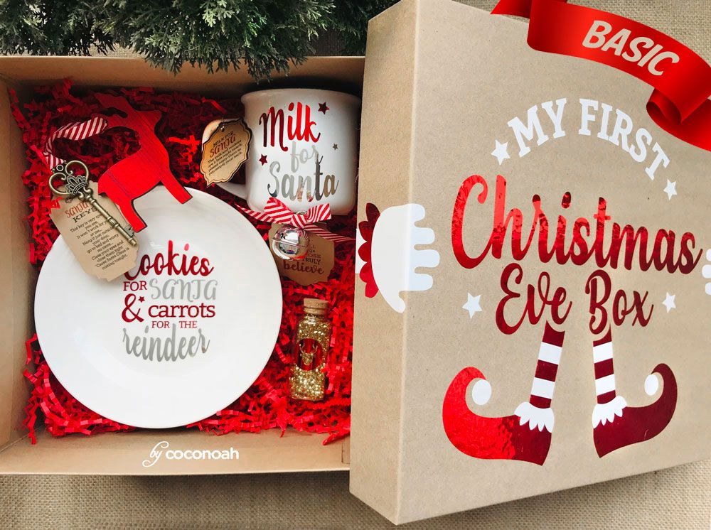Christmas Eve Box Personalized Christmas Gift Boxes Basic Limited Edition In 2020 Christmas Eve Gift Christmas Gift Box Christmas Gifts