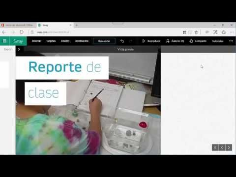 Unidades didácticas multiplataforma con Sway:Crear y compartir contenido interactivo - Microsoft in Education
