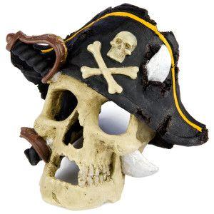 Top Fin Pirate Skull Aquarium Ornament Ornaments Petsmart Aquarium Ornaments Fish Tank Decorations Cool Fish Tanks