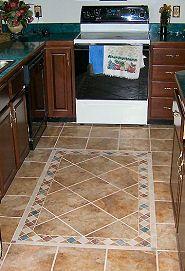 Kitchen Floor Tile Border Ideas Mesmerizing Kinsman Tile Pictures Of Custom Tile Border Designs By 2548 2