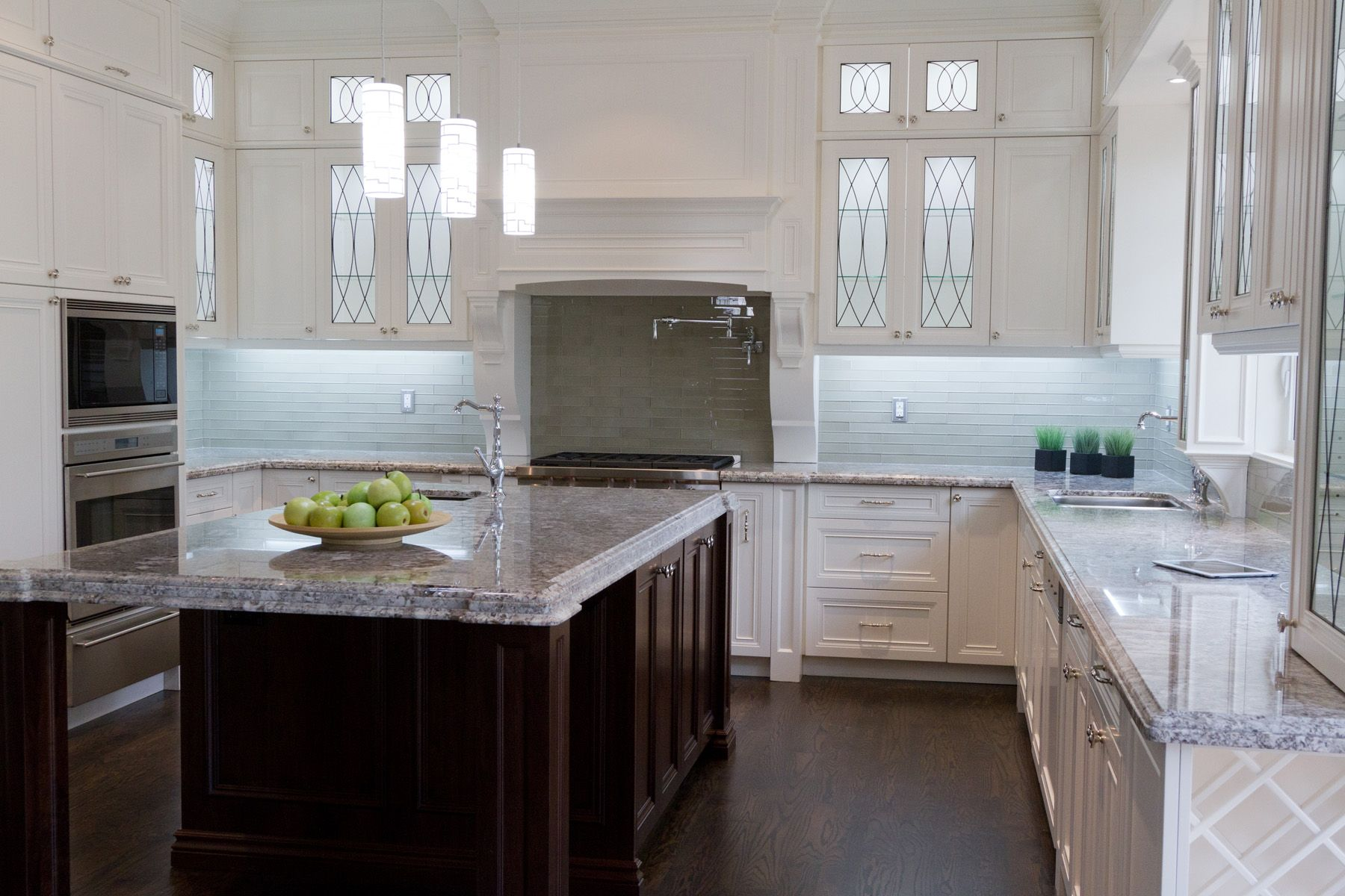transitional kitchens with white cabinets   Modern Kitchens, Transitional Kitchen, Traditional Kitchens ...