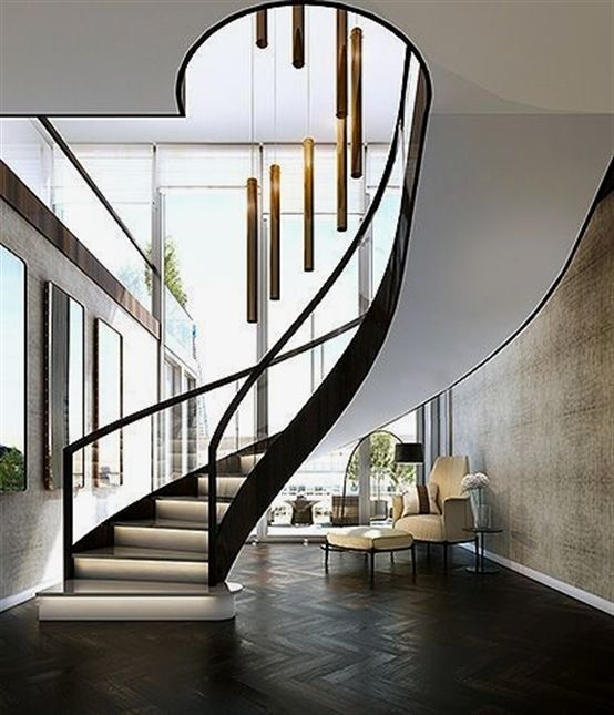 Staircases are taking centre stage in the uk   designer homes interior design trends property homeinterior also rh pinterest