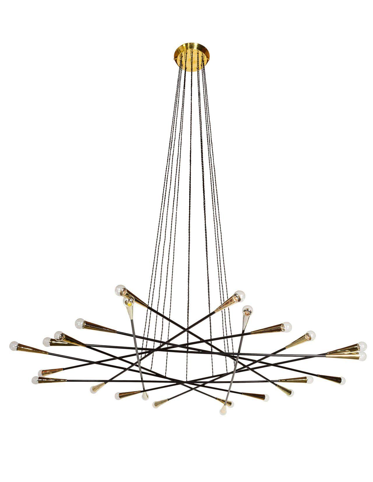 Rewire custom flat multi arm chandelier arubaitofo Gallery