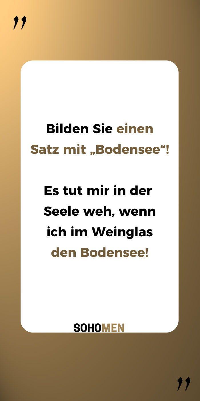 Lustige Sprüche Lustig Witzig Funny Alkohol Bodensee