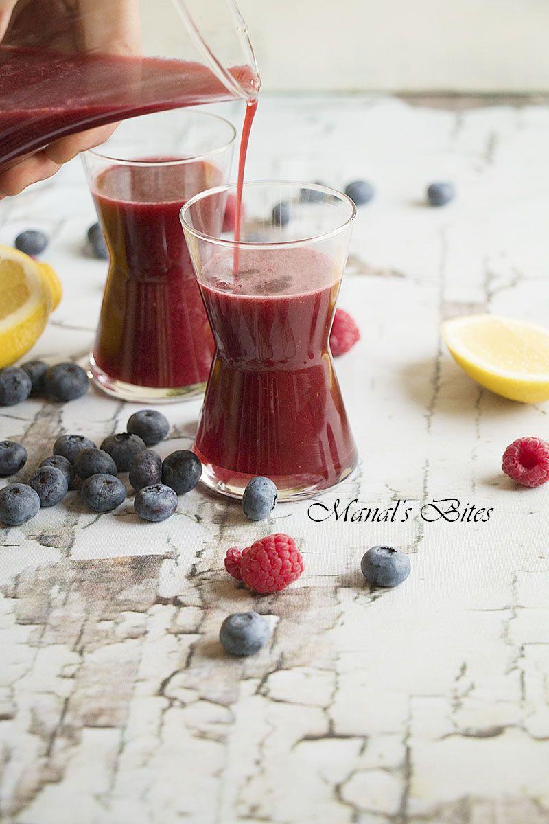 Berries Juice To Make In A Snap Halal Recipes Food Berries
